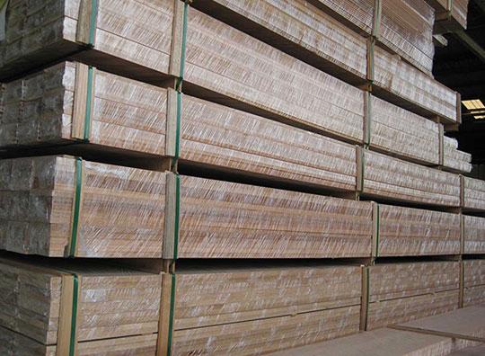 machined timber
