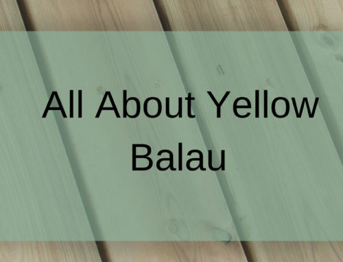 All You About Balau- Yellow Balau Decking Guide