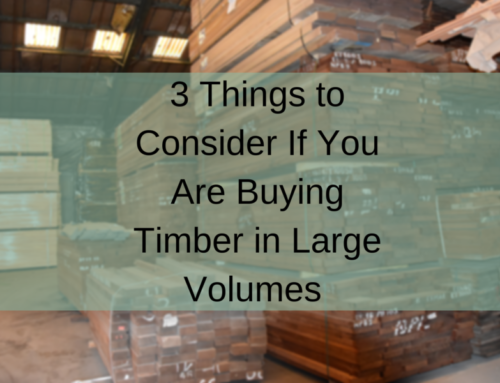 Buying Timber in Large Volumes? 3 Things To Consider